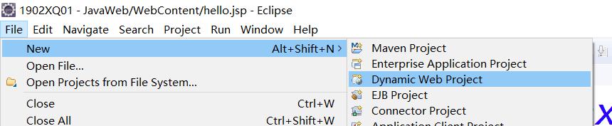 3:eclipse创建JavaWeb项目