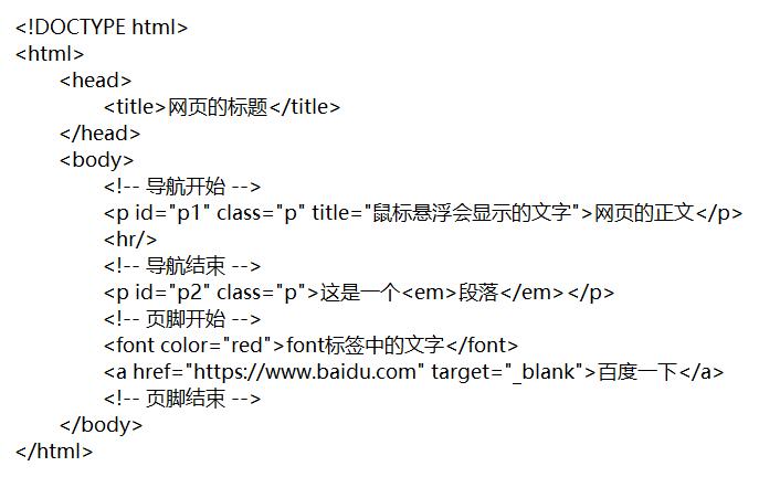 1:HTML简介
