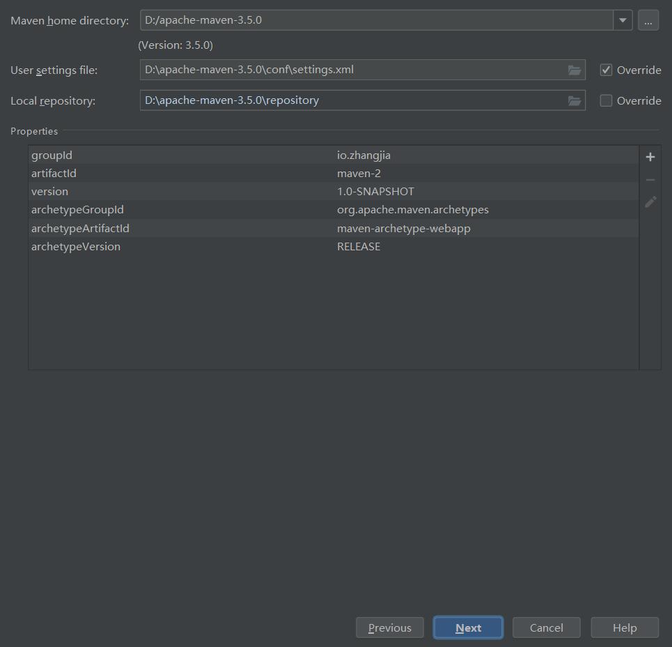 Maven:使用IDEA基于Maven创建JavaWeb项目