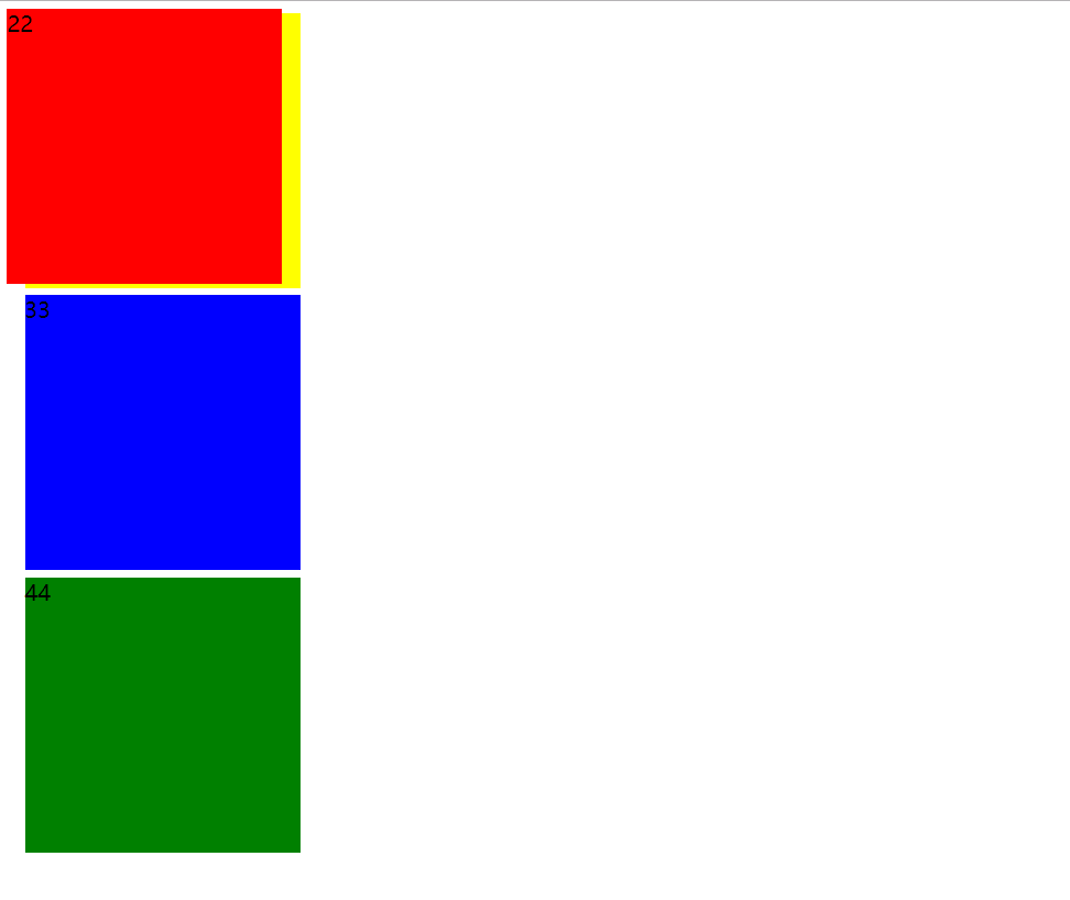 5:CSS定位和位置